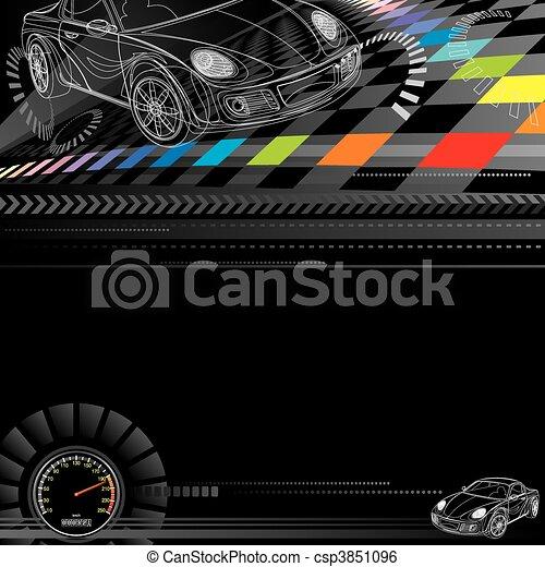 Racing Background - csp3851096