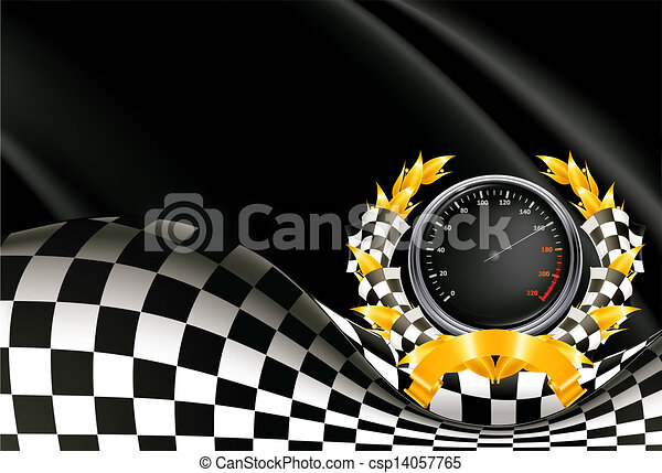 Racing Background, vector - csp14057765