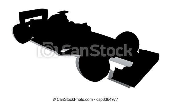 Racing Car 2 - csp8364977