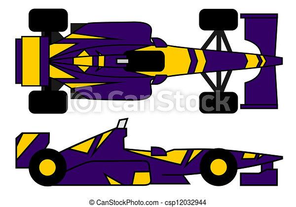 Racing car - csp12032944