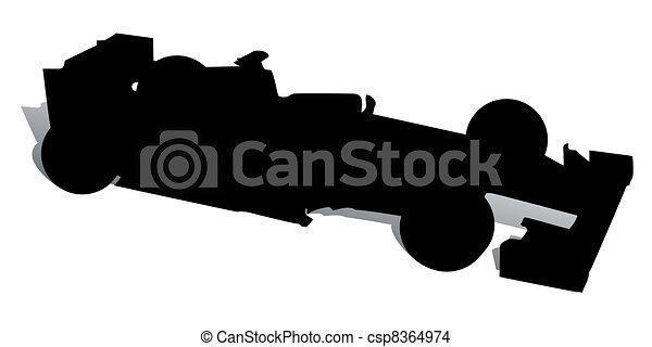 Racing Car - csp8364974