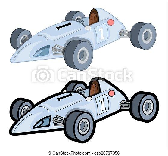 Racing Cars Vector Designs - csp26737056