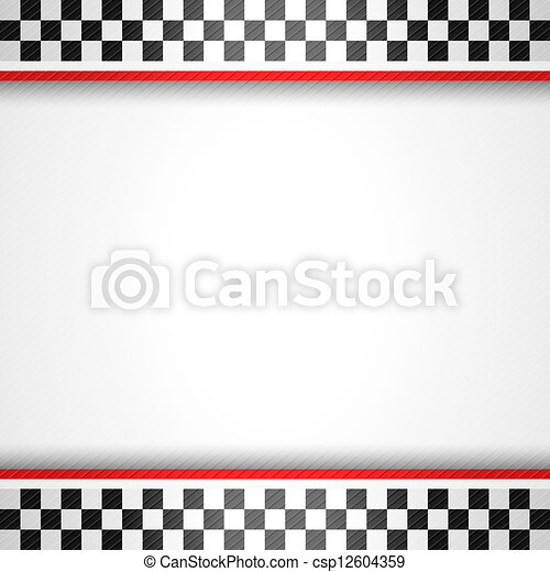 Racing square background - csp12604359