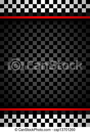 Racing vertical backdrop - csp13701260