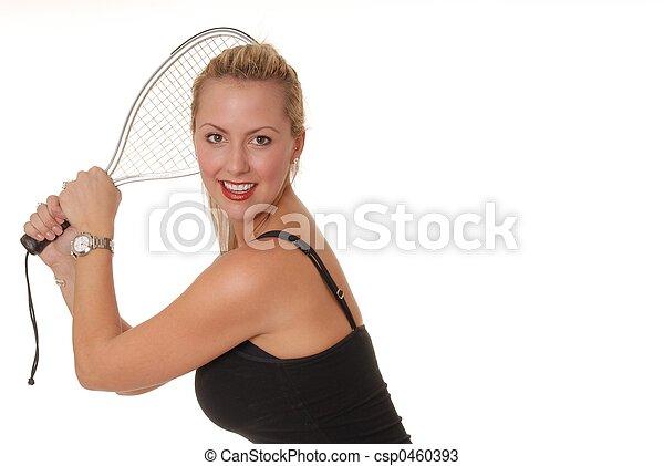 Racket Girl 1 - csp0460393