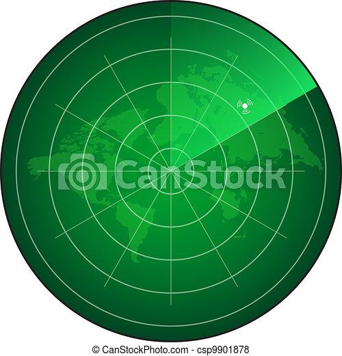 radar, écran - csp9901878