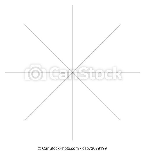 Radial burst lines circular element. Starburst, sunburst graphics. Concentric rays, beams. Sparkle, gleam, twinkle trail lines. Flare, explosion, fireworks radiance effect. Flash, glare design - csp73679199