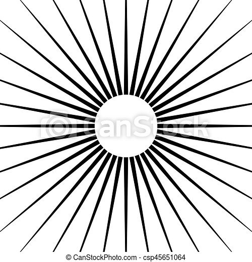 radial lines abstract geometric element spokes radiating clip rh canstockphoto com Honeycomb Clip Art Record Clip Art