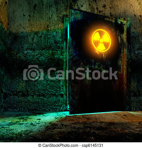 radiation danger zone - csp6145131