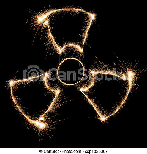 radiation sparkler - csp1825367