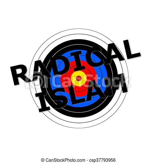 Radical Islam Target - csp37793956
