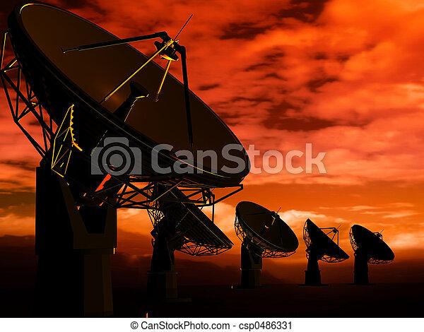 radio, antenne - csp0486331