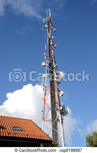 Radio broadcasting and mobile transmitters. - csp8188687