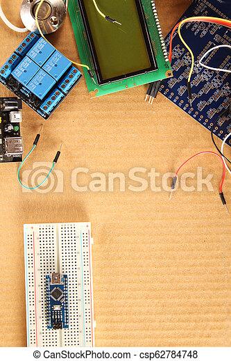 Radio electronic elements - csp62784748