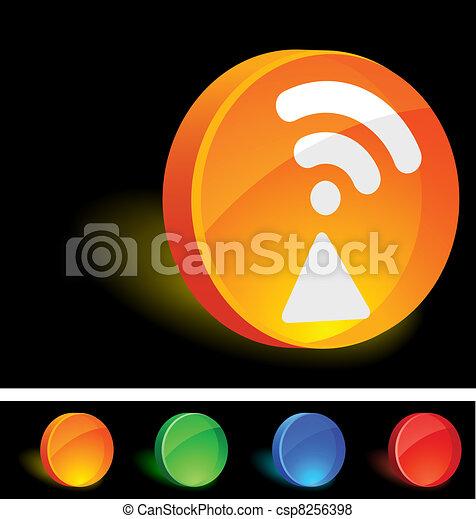 Radio Icon. - csp8256398