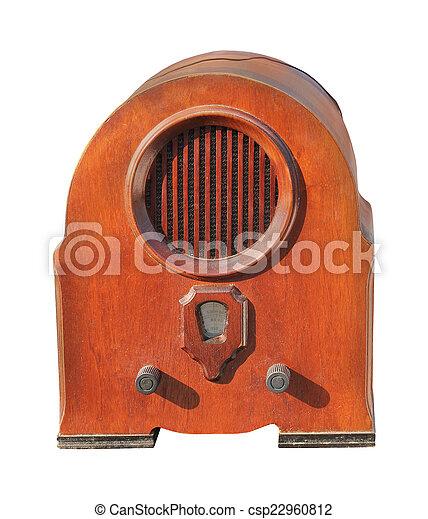 radio, retro - csp22960812