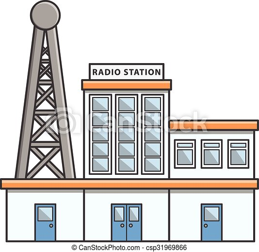 Image result for radio station clipart