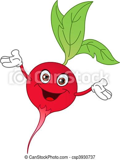 radish cartoon radish raising his hands rh canstockphoto com radish clipart horseradish clipart