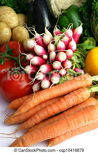 Radishes and other vegetables - csp10416879