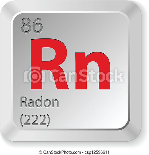 Radon Element Vector Clip Art Search Illustration Drawings And