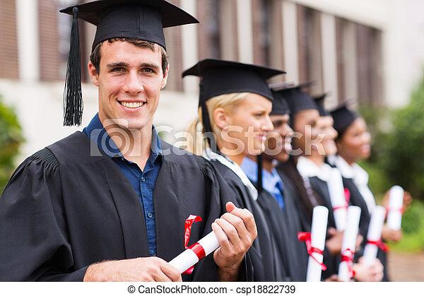 radosny, kolegium, absolwenci - csp18822739