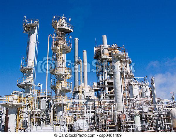 raffinerie chimique - csp0481409
