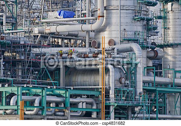 raffinerie, détails - csp4831682