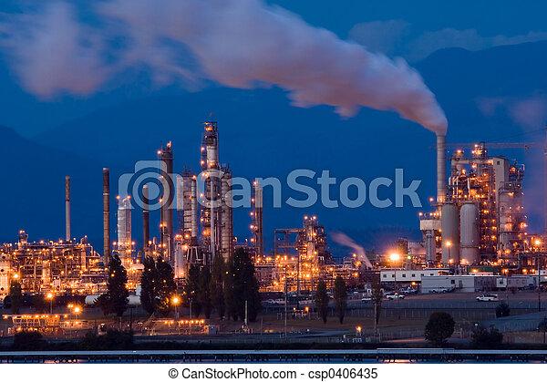 raffinerie, huile - csp0406435