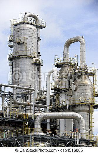 raffinerie, huile - csp4516065