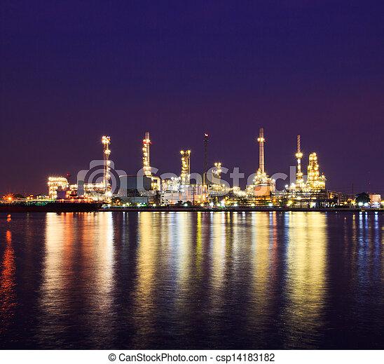 raffinerie, huile - csp14183182
