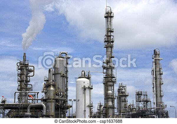 raffinerie, huile - csp1637688