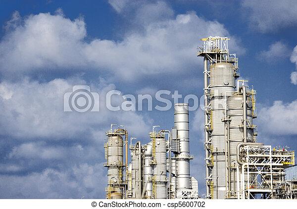 raffinerie, huile - csp5600702