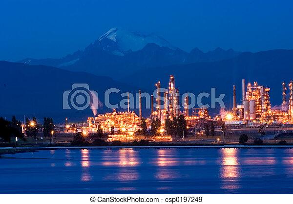 raffinerie, huile - csp0197249