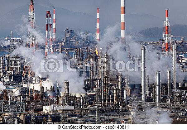 raffinerie, plante - csp8140811