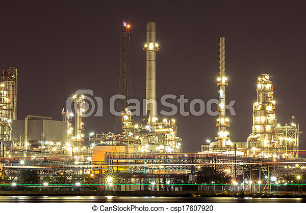 raffinerie, plante - csp17607920