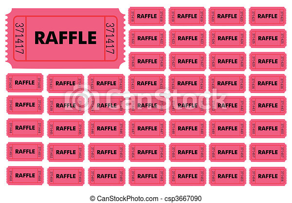 how to design raffle tickets