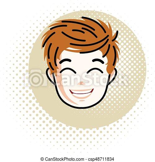 Rosso testa adolescenza
