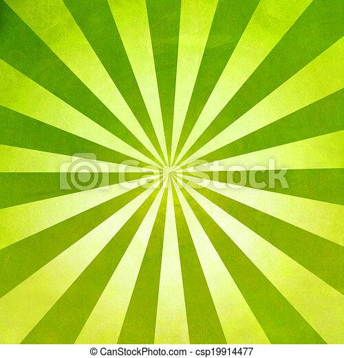 raggi, sfondo giallo, struttura - csp19914477