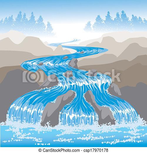 Raging River - csp17970178