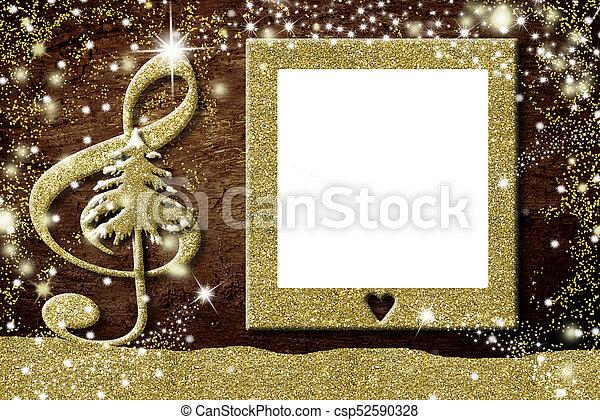 Weihnachten Fotorahmen.Rahmen Foto Karten Weihnachten Musik