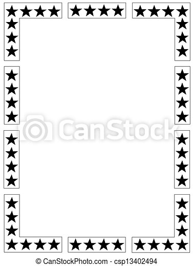 Star-Rahmen - csp13402494