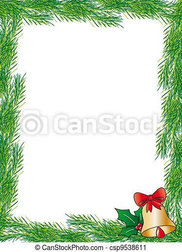 Rahmen Weihnachten