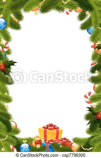 Rahmen Weihnachten Geschenk Rahmen Mistel Tannenbaum