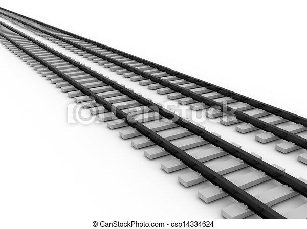 railroad concept - csp14334624