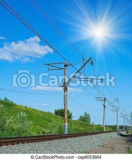 Railroad - csp6053664