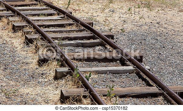 Railroad Tracks - csp15370182