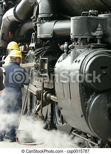 Railroad Workers - csp0015787