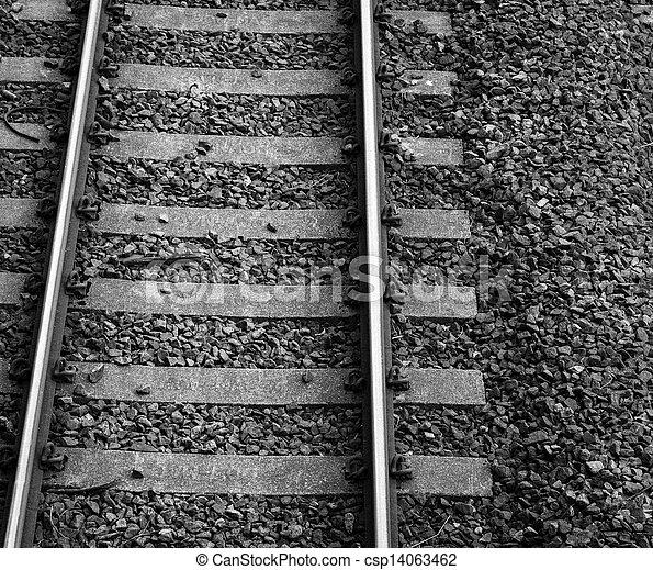 Railway lines - csp14063462