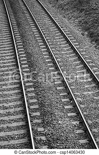 Railway lines - csp14063430