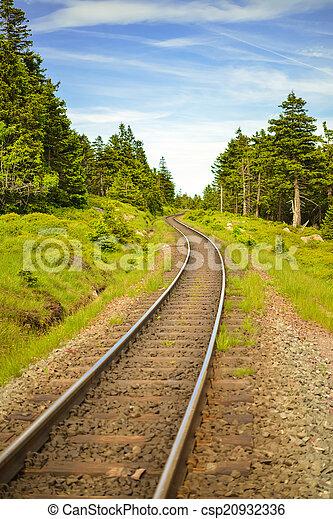 Railway lines - csp20932336